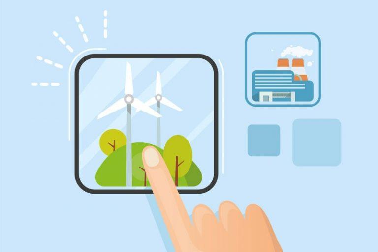 Il passaggio della moda all'energia sostenibile